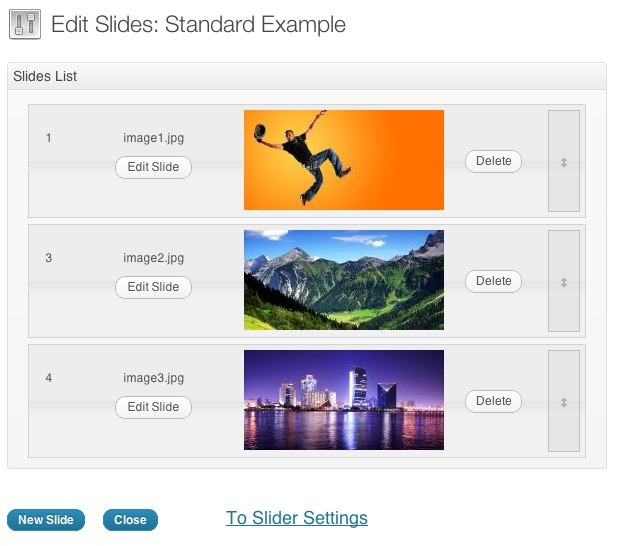 Slider Revolution Responsive WordPress Plugin screenshot