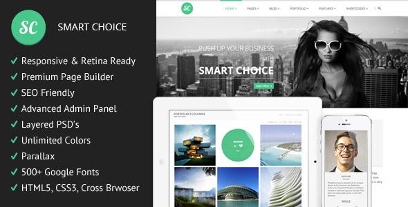 SmartChoice - Responsive Multi-Purpuse Theme