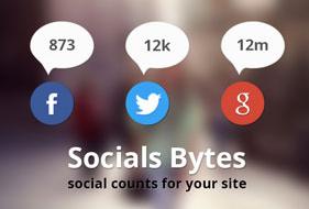 Socials Bytes WordPress Plugin