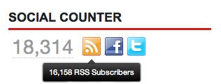 Total Social Counter