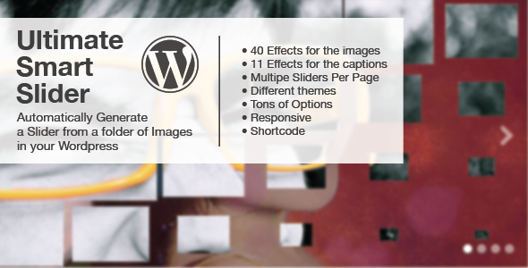 Ultimate Smart Slider - WordPress