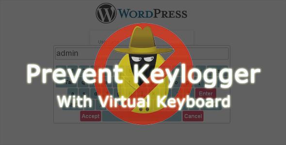 WP Virtual Keyboard Login - Keylogger Prevention