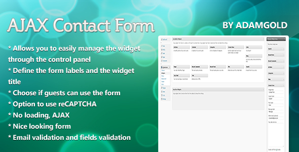 WPContact - AJAX Contact Form