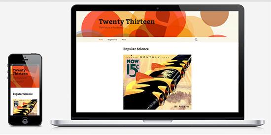 WordPress Twenty Thirteen Theme