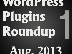Daily WordPress Plugins Roundup – 1 August, 2013