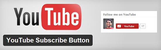 YouTube Subscribe Button WordPress plugin