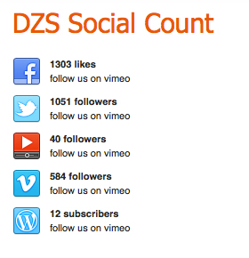 ZoomSocialCount - Social Networks Counter for Word