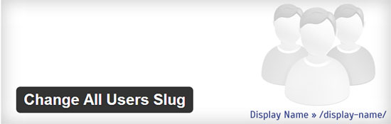 Change All Users Slug WordPerss