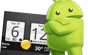 Anti+Digital Clock for Android
