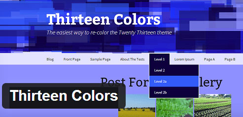 Twenty Thirteen Default WordPress Theme
