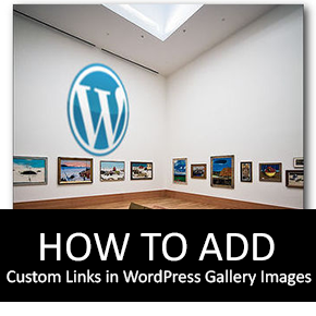 How to Add Custom Links in WordPress Gallery Images