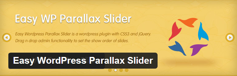 Easy WordPress Parallax Slider