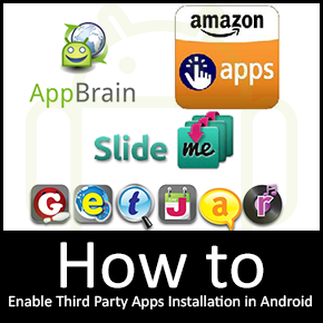 Android 101: How to Enable Third Party Applications Installation in Android