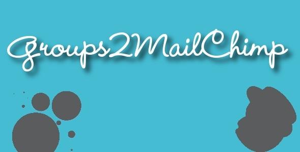 Groups2Mailchimp - Groups Mailchimp Integration