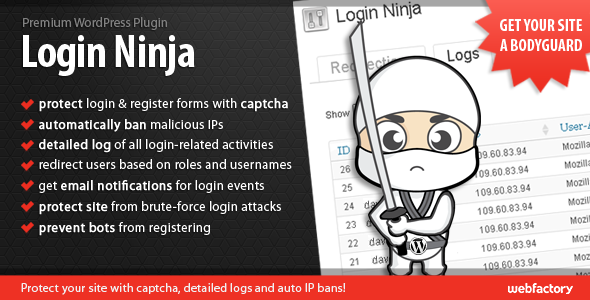 Login Ninja WordPress