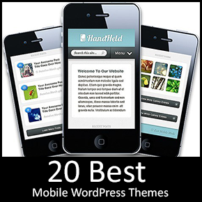 Mobile WordPress Themes Thumbnail