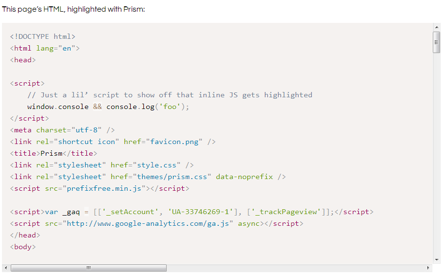 Prism WP WordPress Plugin Screenshot
