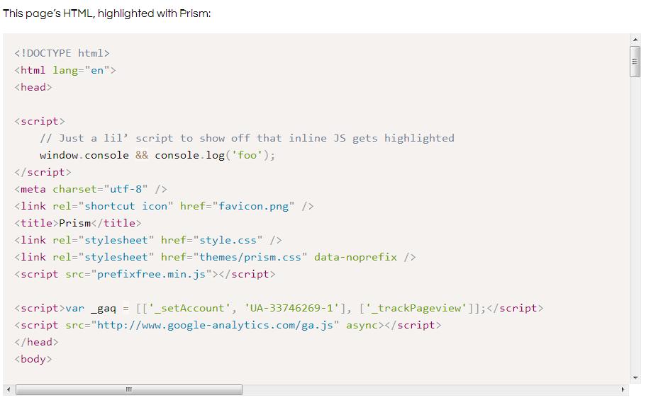 Prism WP WordPress Plugin Screenshot