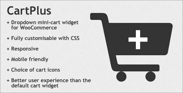 Responsive Dropdown Cart Widget for WooCommerce