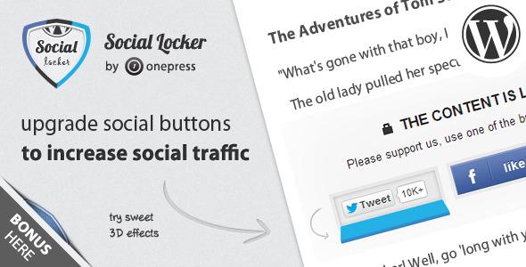 Social Locker for WordPress