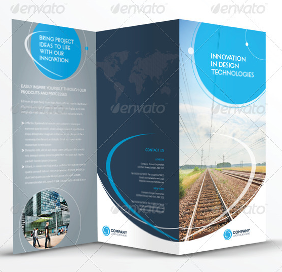 10 best premium brochure templates to download for Adobe brochure templates