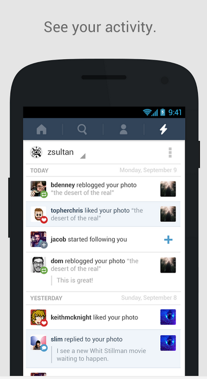 Tumblr for Android