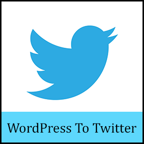 Tweet automatically new WordPress post on Twitter thumbnail