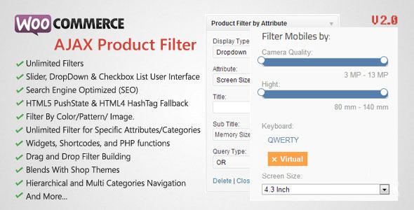 WooCommerce AJAX Product Filter - WordPress Plugin