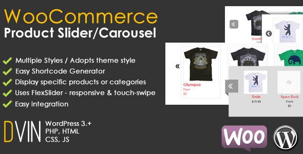 WooCommerce Product Slider / Carousel