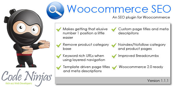 Woocommerce SEO WordPress Plugin