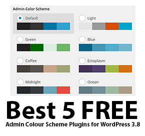 5 FREE Best Admin Colour Scheme Plugins for WordPress 3