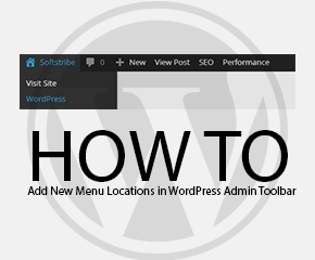 How to Add New Menu Locations in WordPress Admin Toolbar