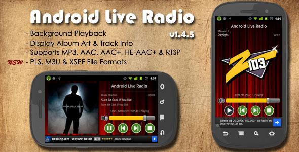 Android Live Radio