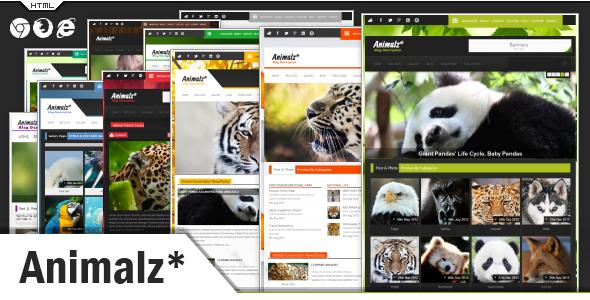 Animalz - Eco/Green Environmental HTML Template