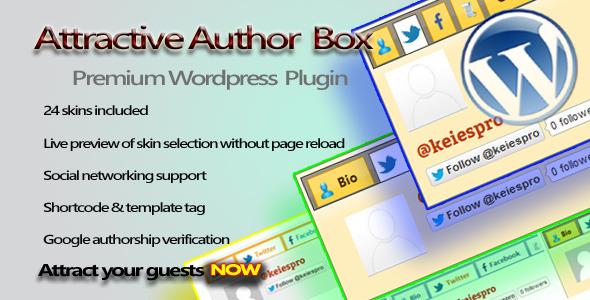 Attractive Author Box