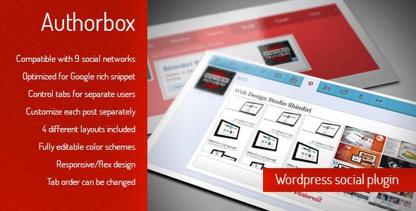 Author Box - WordPress social author plugin