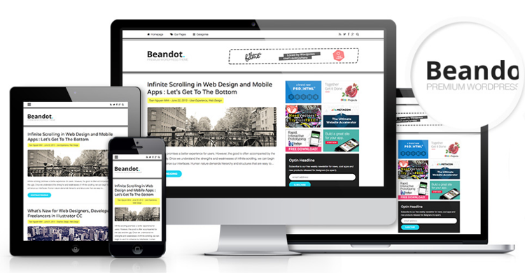 Beandot WordPress Theme