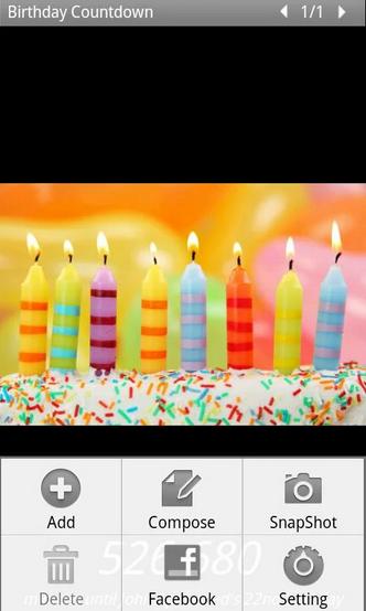 Birthday Countdown Widget Android