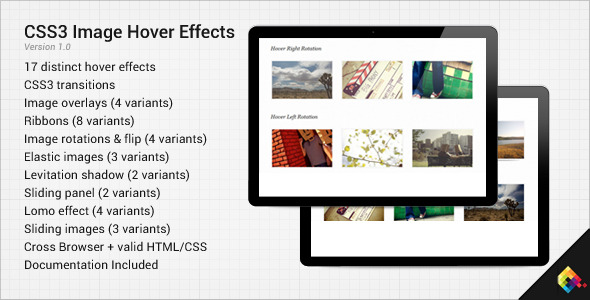 15+ Abstract CSS3 Hover Effects for Web Designers