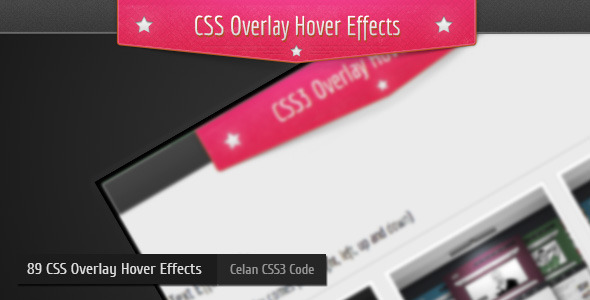 CSS3 Overlay Hover Effects Vol1