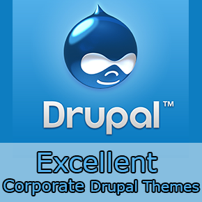 Excellent Corporate Drupal Themes Thumbnail