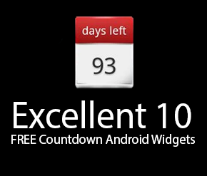 FREE Countdown Android Widgets