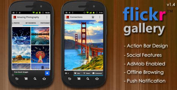 Flickr Gallery - Photographer Portfolio App