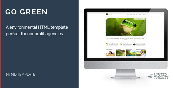 Go Green - Environmental HTML Template