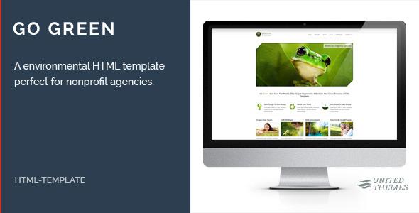 Go Green - Environmental HTML Template