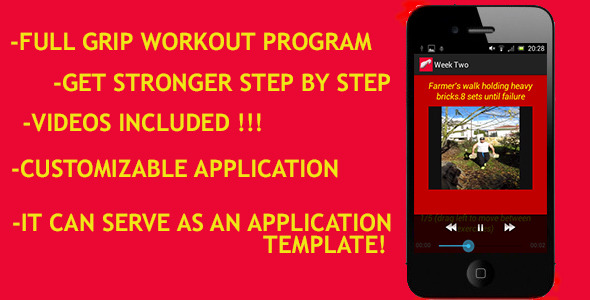 Grip Strengthening App