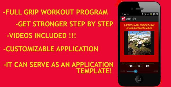 Grip Strengthening App
