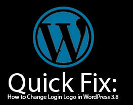 Quick Fix: How to Change Login Logo in WordPress 3.8