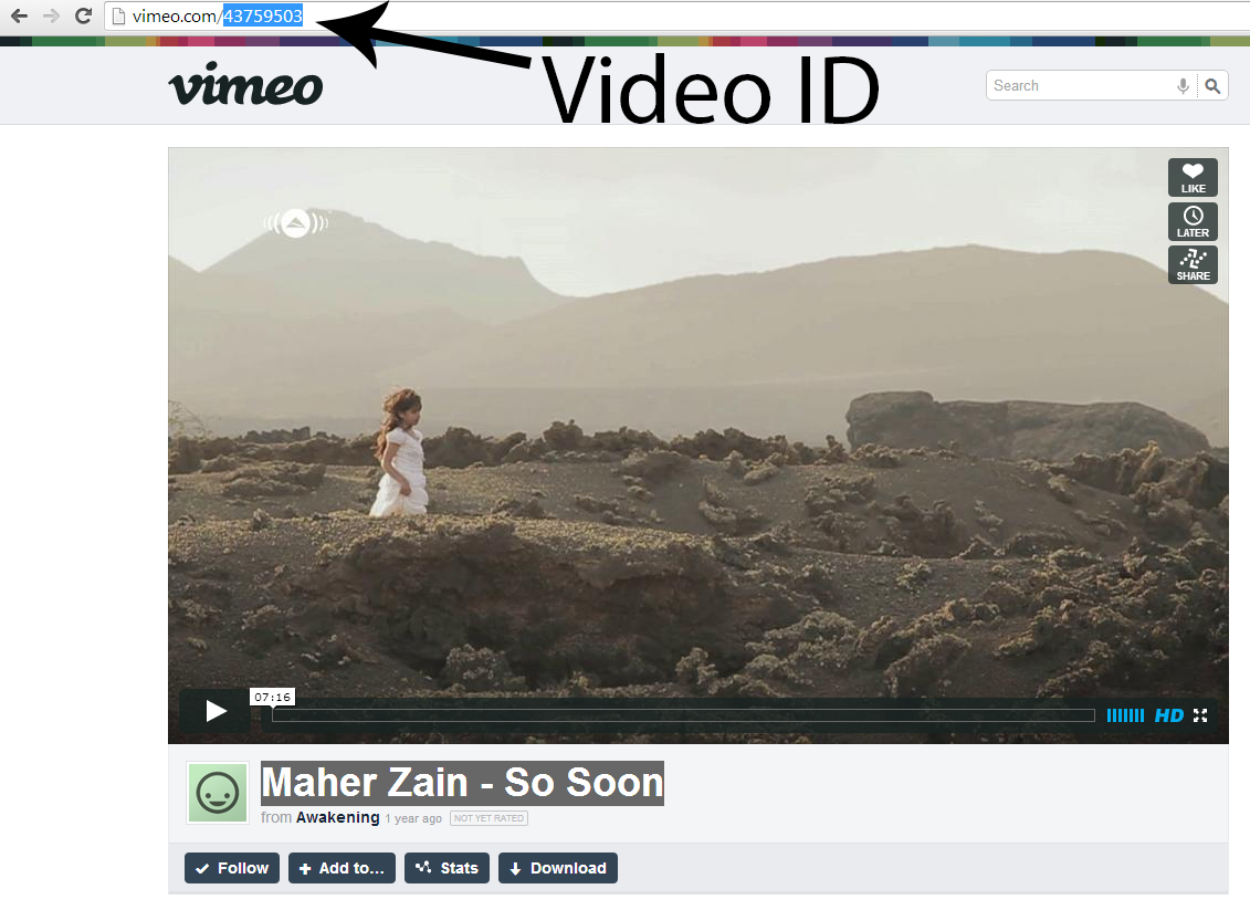 How to Get Video ID from Vimeo