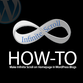 Infinite Scroll on Homepage in WordPress Blogs